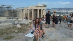 My Beauties at the Acropolis